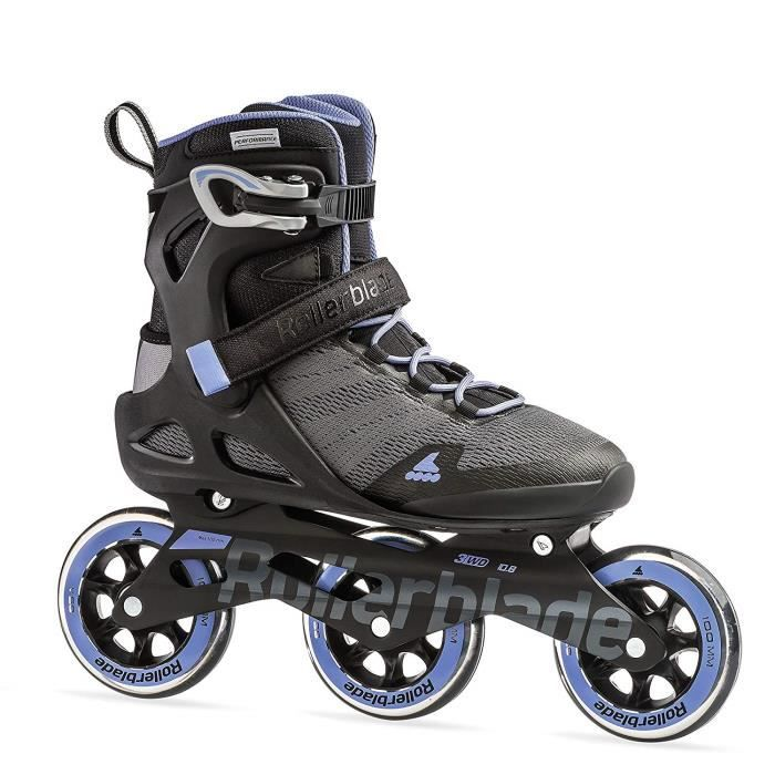 Rollerblade Twister Edge W Edition 3 Patins /à roulettes Noir//Or Rose