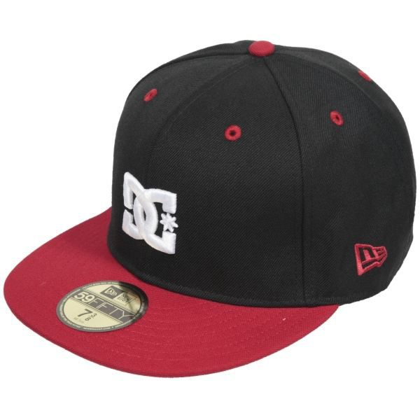 casquette dc shoes empire cap new black red achat. Black Bedroom Furniture Sets. Home Design Ideas