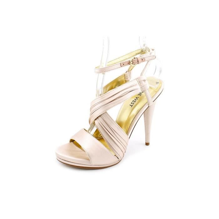Nine West Ally Sway Satin Sandales