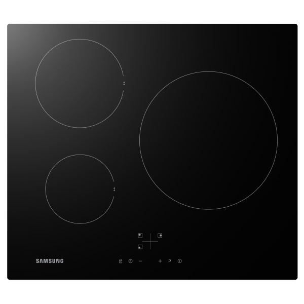 Table de cuisson induction samsung nz63f3nm1ab achat - Table induction blanche 3 foyers ...