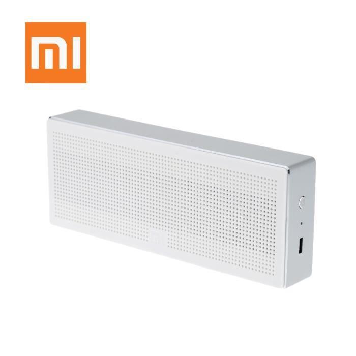 ENCEINTE NOMADE  Xiaomi haut-parleur enceinte Bluetooth 4.0 blanc