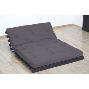 futon 2 places achat vente futon 2 places pas cher cdiscount. Black Bedroom Furniture Sets. Home Design Ideas