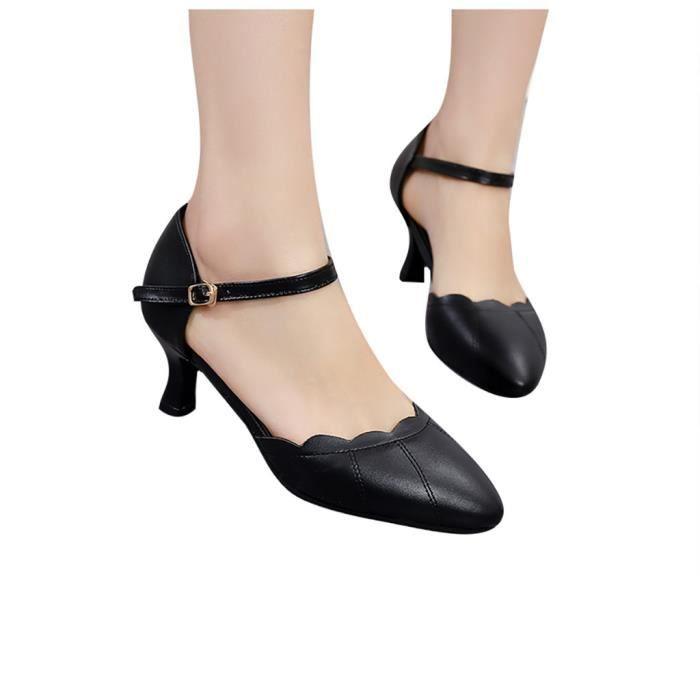 Nouvelle mode des femmes d'été mince talon haut bout pointu Sandales Parti Chaussures lomghuu 5459