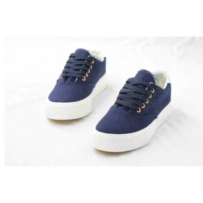 Femme casual chaussures chaussures de toile Bre...