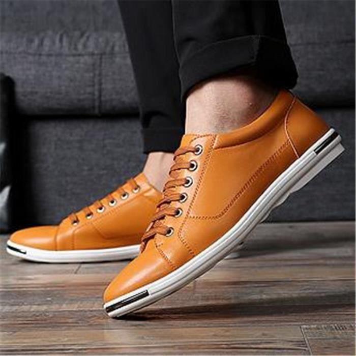classique Derby hommes robe chaussures décontracté affaires costume chaussures la mode
