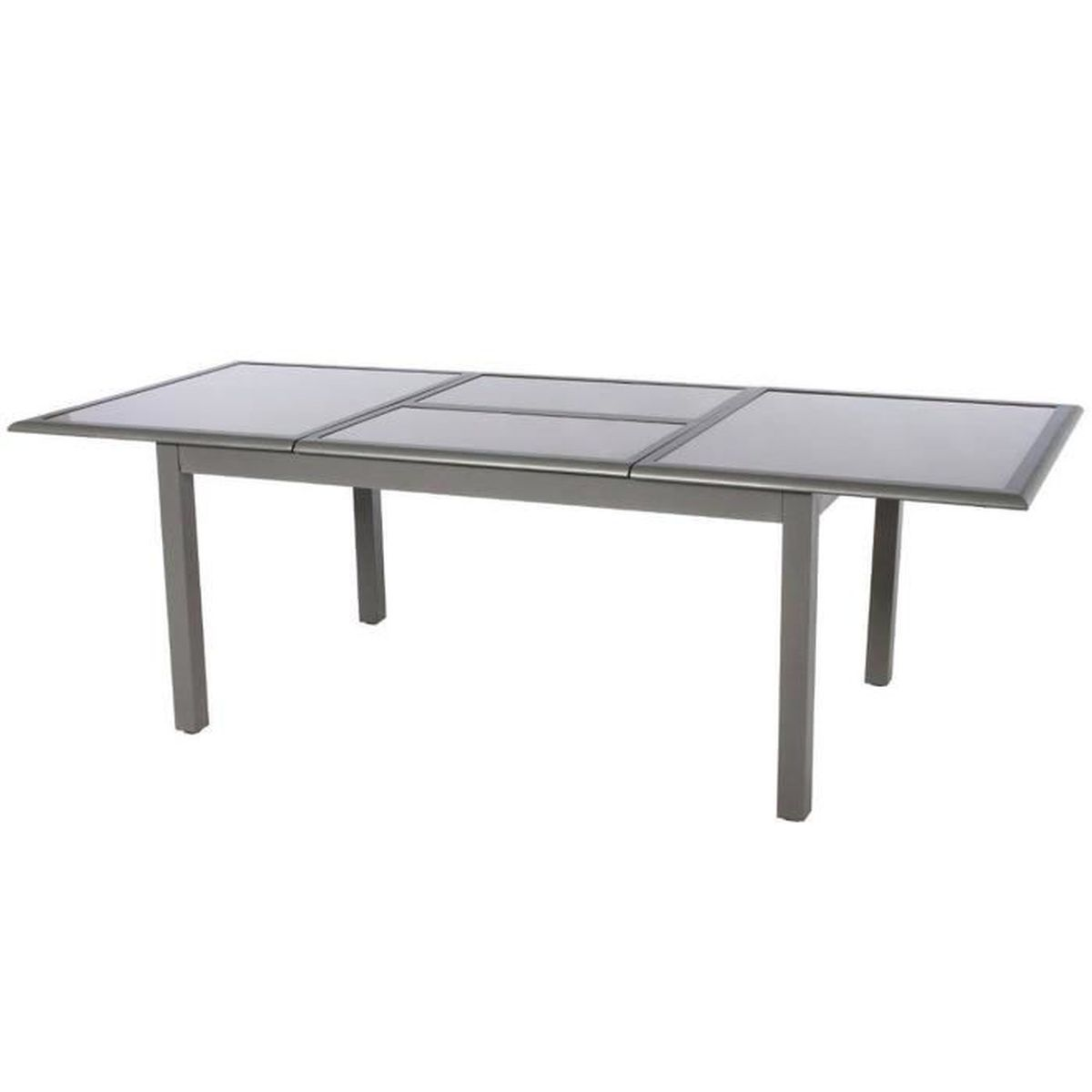 table de jardin aluminium 240 cm achat vente table de jardin aluminium 240 cm pas cher. Black Bedroom Furniture Sets. Home Design Ideas