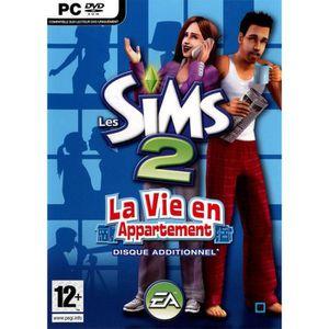 JEU PC LES SIMS 2 LA VIE EN APPARTMENT / JEU PC DVD-ROM -
