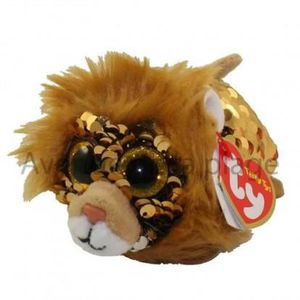 PELUCHE Peluche Teeny Ty flippables sequins Regal le lion