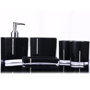 SET ACCESSOIRES 5pcs-set Accessoires de salle de bain en acrylique