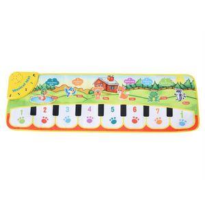 JOUET ♥Eiffel Bébé Tapis De Musique Enfants Rampant Pian