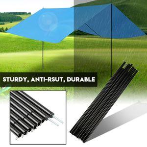 Dilwe Lot de 2 Barres de Tente en Alliage daluminium pour Tente de Rechange pour randonn/ée