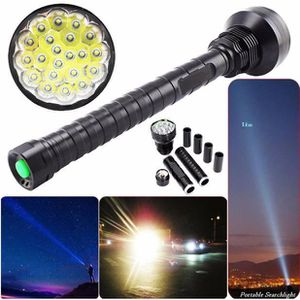 LAMPE DE POCHE 28000LM XM-L LED 21x T6 Super lampe-torche Lampe L