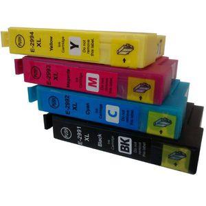 CARTOUCHE IMPRIMANTE T2995 - Pack 4 Cartouches d encre compatible Epson
