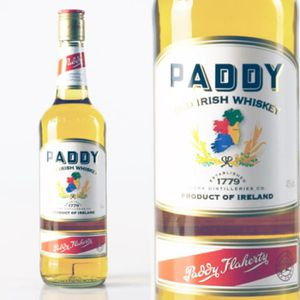WHISKY BOURBON SCOTCH Paddy Whisky 0.7 Litres