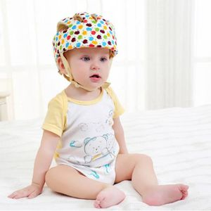 CASQUE ENFANT Casque de Sécurité Ajustable pour Bébé Casque de P