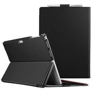 CLAVIER D'ORDINATEUR FINTIE Coque pour Microsoft Surface Pro 6 - [Multi
