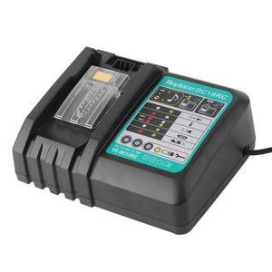 LaiPuDuo Pour Makita Chargeur de batterie de rechange Lithium-Ion Chargeur de batterie pour DC18RA DC18RC charge BL1830 BL1430 6.5A Charger
