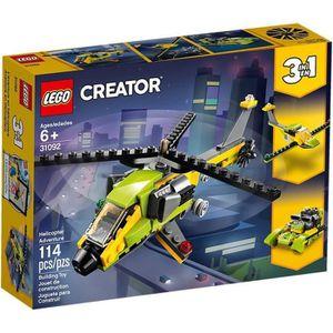 ASSEMBLAGE CONSTRUCTION LEGO® Creator 3-en-1 - 31092 L'Aventure En Hélicop