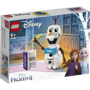 ASSEMBLAGE CONSTRUCTION LEGO® Disney La Reine des Neiges 41169 - OLAF