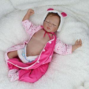 POUPÉE 2016 nouveau Silicone bébé Reborn Dolls couchage B