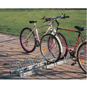 RACK RANGEMENT VÉLO Support vélo face à face - 3 vélos - 72 cm