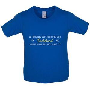 T-SHIRT Dressdown T-shirt  Je travaille dur pour que mon d