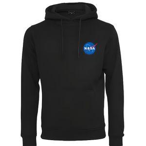 SWEATSHIRT Sweat Capuche NASA Hoody Noir