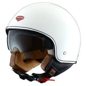 CASQUE MOTO SCOOTER CASQUE JET ASTONE MINIJET RETRO BLANC