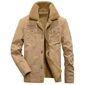 BLOUSON Blouson homme veste chaude nouveau Beige ZX-NSZ301