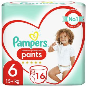 COUCHE PAMPERS Premium Protection Pants Paquet T6x16