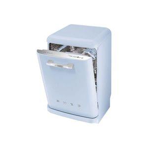 LAVE-VAISSELLE Smeg 50's Style LVFABPB Lave-vaisselle pose libre