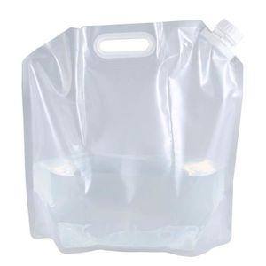 Là-bas pliant 20 litres pour camping eau transporteur conteneur