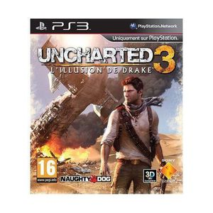 JEU PS3 Uncharted 3 : L'Illusion de Drake