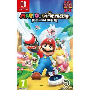 JEU NINTENDO SWITCH Mario + The Lapins Crétins  Jeu Switch + 1 Figurin
