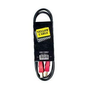 CÂBLE INFORMATIQUE Câble usb 1 m - Yellow Câble N01-1