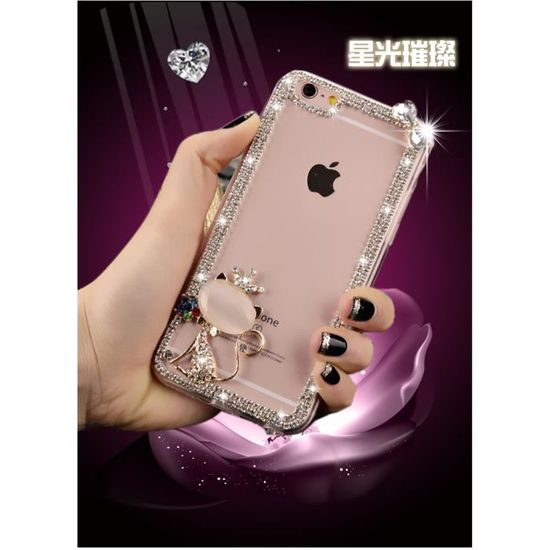 coque iphone 8 perle