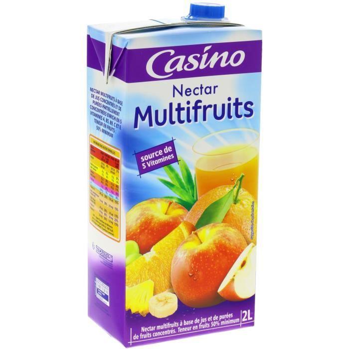 CASINO Nectar Multivitaminés 2L