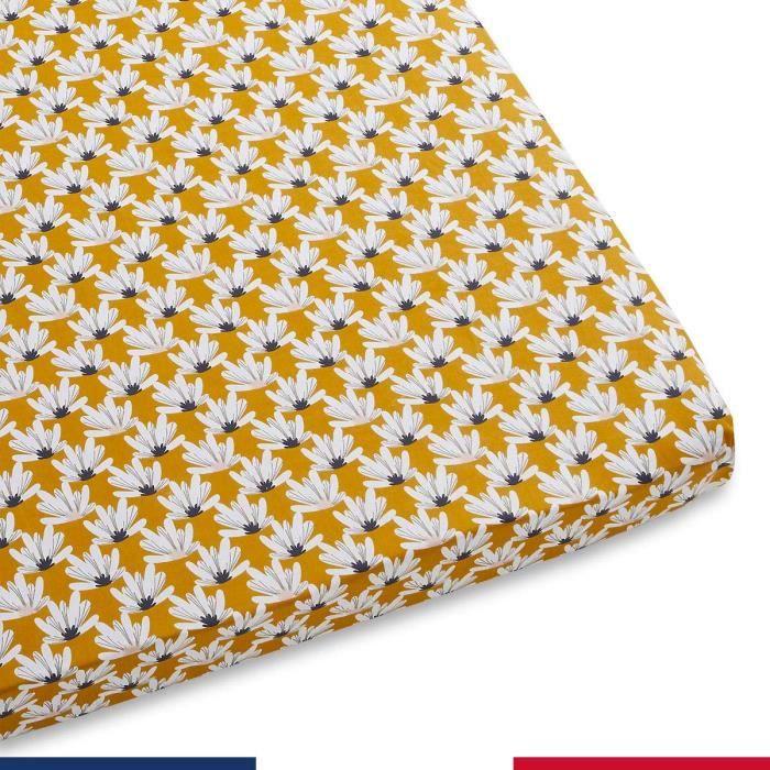 Drap housse pour bébé Lotus (Ovale - 50x90)