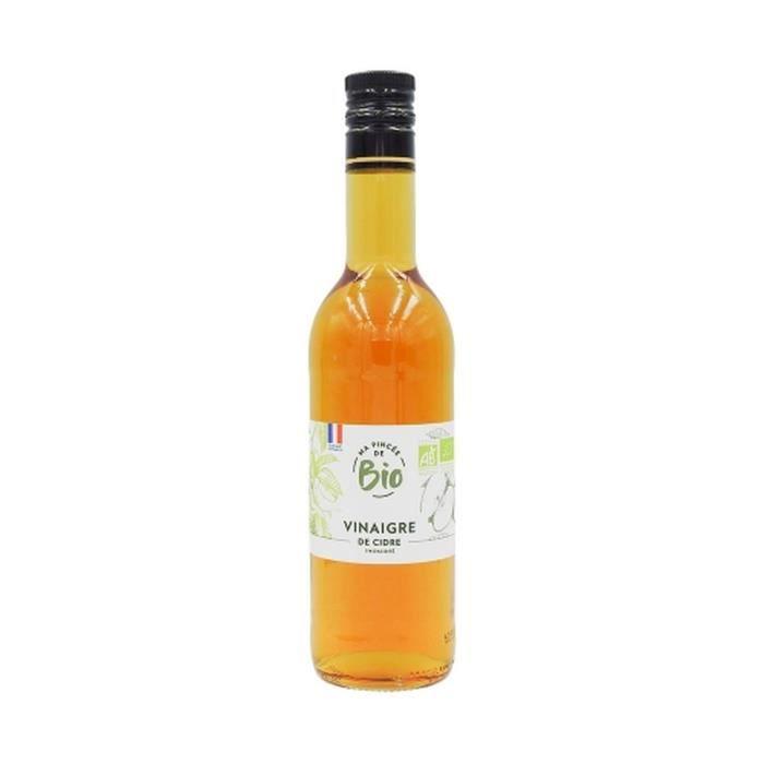 Vinaigre de cidre BIO - France - Ma Pincée Bio - bouteille 500ml