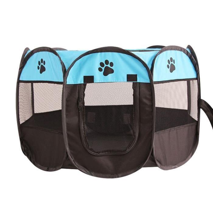Tente pour animaux de compagnie, tente pour chiens et chats, Portable, pliable, Cage pour chiots et chatons, imperméable, [DC151E5]