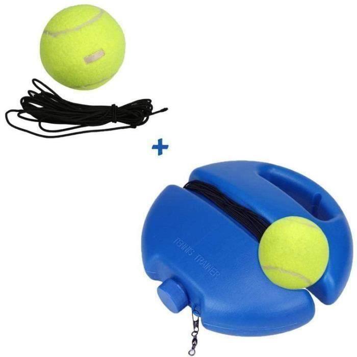 Entraîneur de tennis simple - Kit complet d 'équipement pour balles de tennis avec la longue corde