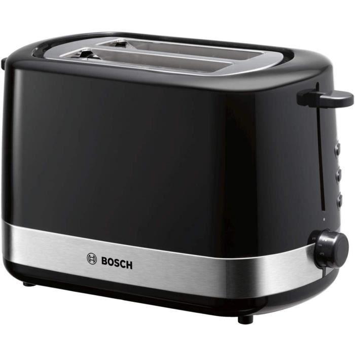 TOASTER Bosch TAT7403 Grillepain compact avec fonction deacutecongeacutelationdeacutecongeacutelation centrage du pain automatiq130