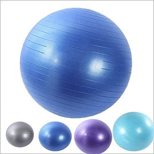 ice Ball Chair 65cm boule de yoga et de remise en forme avec ballon de stabiliteacute de base et affiche la seacuteance dentraic1662