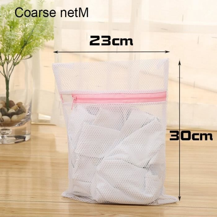 Filet De Lavage,Snailhouse sac de Protection en filet de lavage pour vêtements et Machine à laver, soutien - Type Coarse net XS