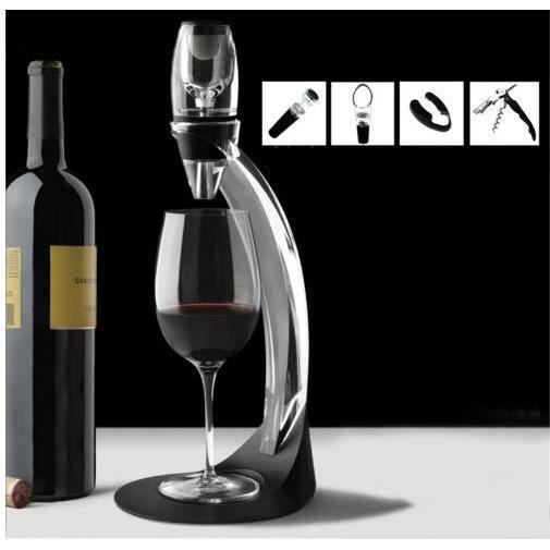 Tire-Bouchon,Nouveaux détails de 1 pièces Magic Décanteur rapide, aérateur de vin, pochette d'aération essentielle - Type Model 12