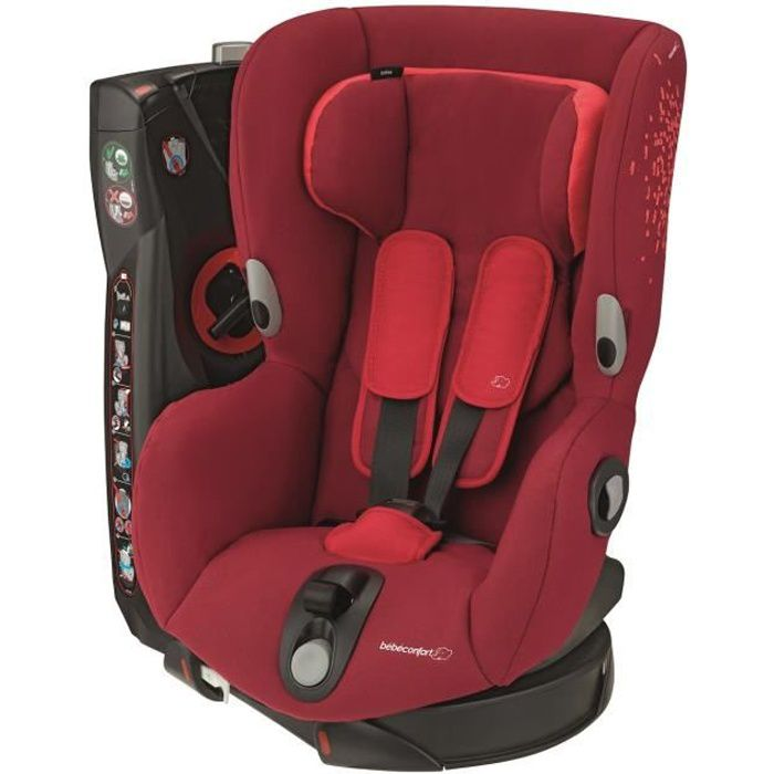 BEBE CONFORT Siège auto Axiss Groupe 1 - Vivid Red