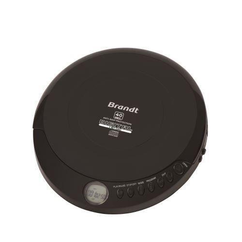 BRANDT Baladeur CD/MP3 2812 Noir - PCD-220A / 4346092
