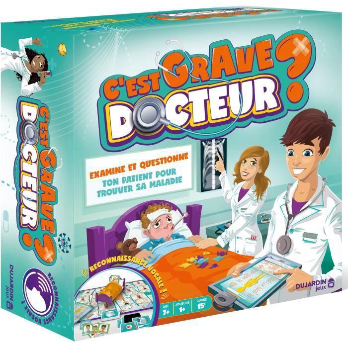DUJARDIN - C'EST GRAVE DOCTEUR ? - jeu de société