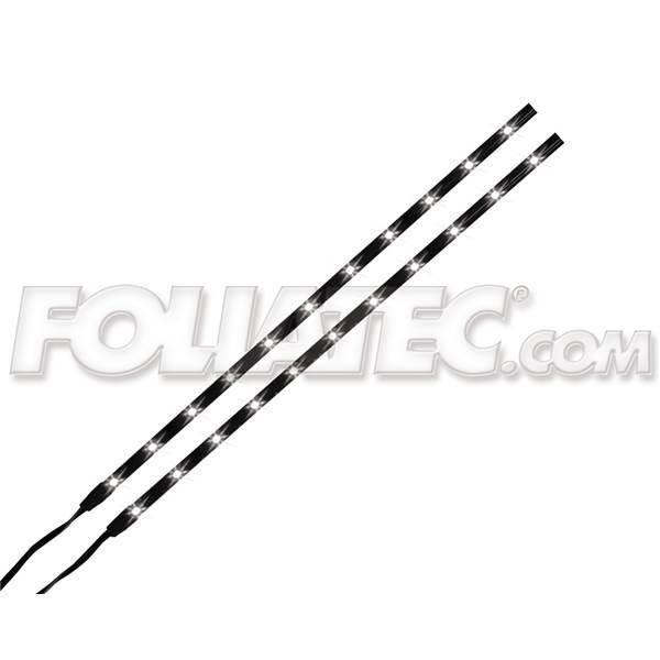 Bandes adhésives FOLIATEC 11 LEDs blanc 34 cm
