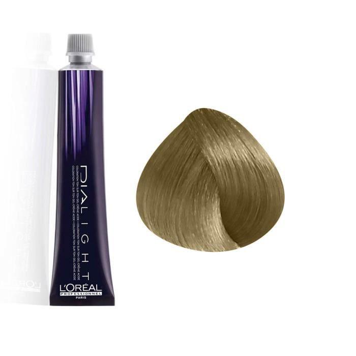 L'Oréal Professionnel Coloration gel crème Ton sur Ton 8 : Blond Clair Sans ammoniaque, 50ml